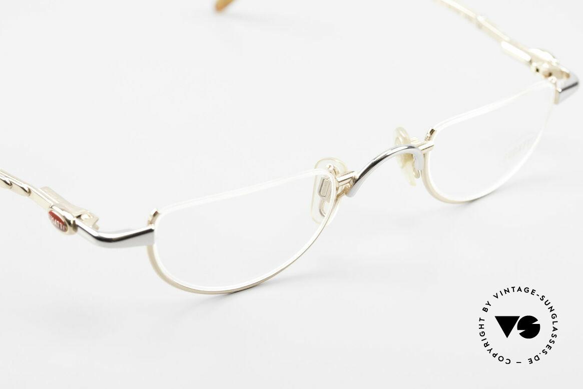 Bugatti 28108 Men's Reading Frame Bicolor, unworn (like all our rare vintage Bugatti eyeglasses), Made for Men