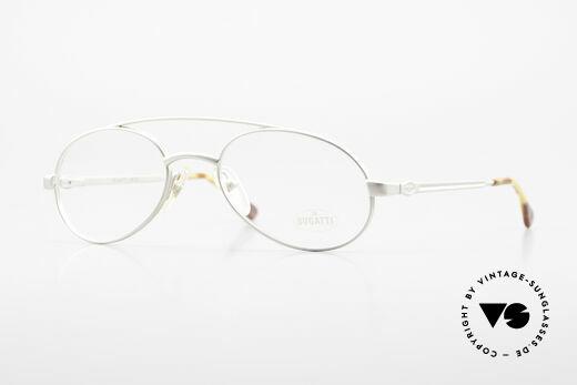 Bugatti 08105 Old Vintage Glasses 80's Men Details