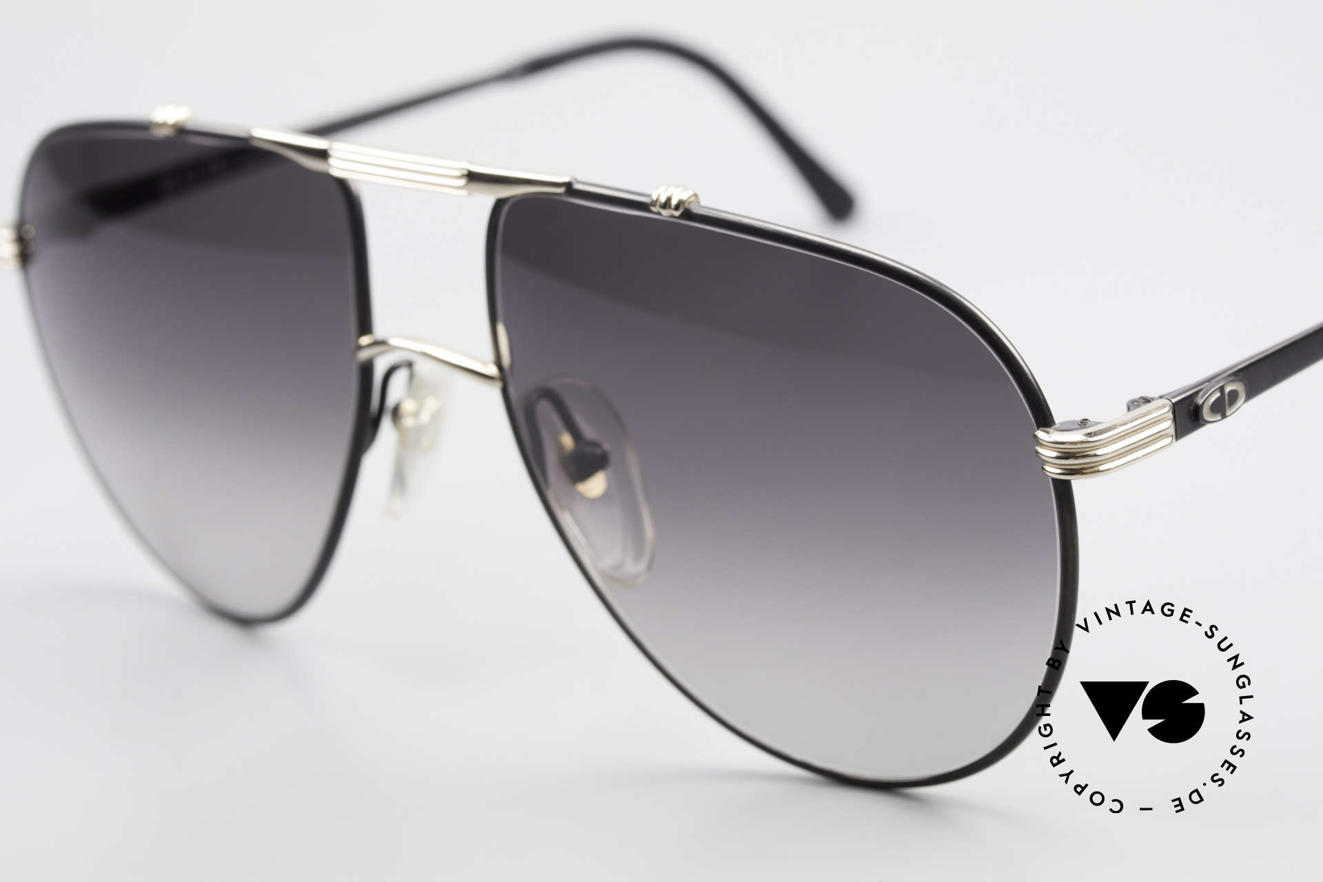 Christian Dior 2248 80's Aviator Large Sunglasses, new old stock (like all our rare vintage C. Dior shades), Made for Men