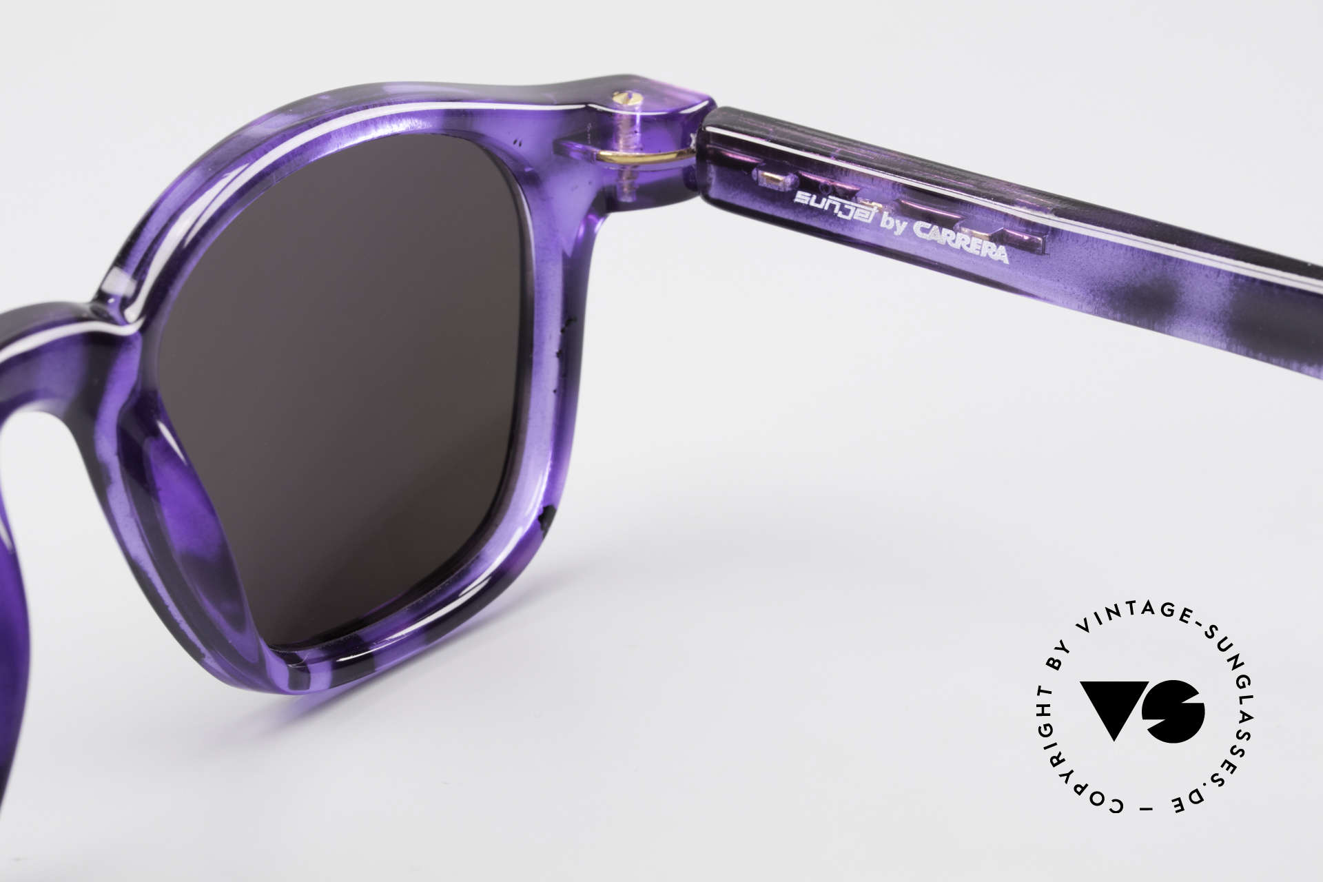 Carrera 5272 Tart Arnel Style James Dean, unworn, new old stock (like all our rare 90's vintage shades), Made for Men and Women