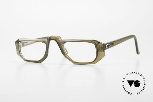 Christian Dior 2008 70's Optyl Reading Glasses Details