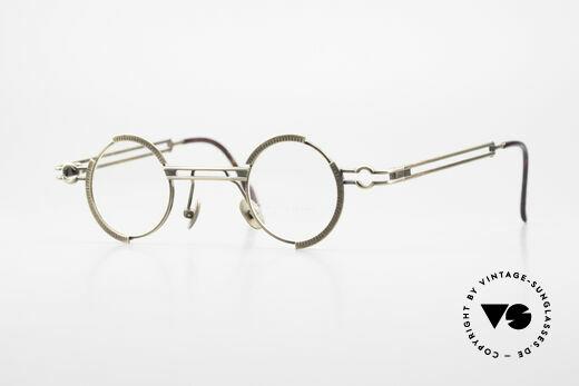 Koure KR8103 90's Glasses Round Steampunk Details