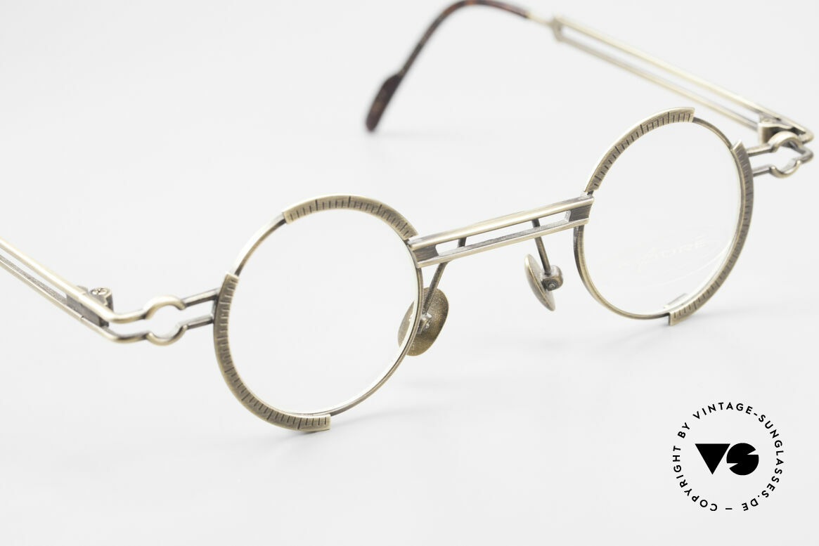 Koure KR8103 90's Glasses Round Steampunk, unworn rarity (a 'must have' for all art & fashion lovers), Made for Men and Women
