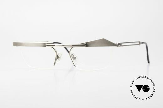 Koure KR8077 Designer Glasses Semi Rimless Details