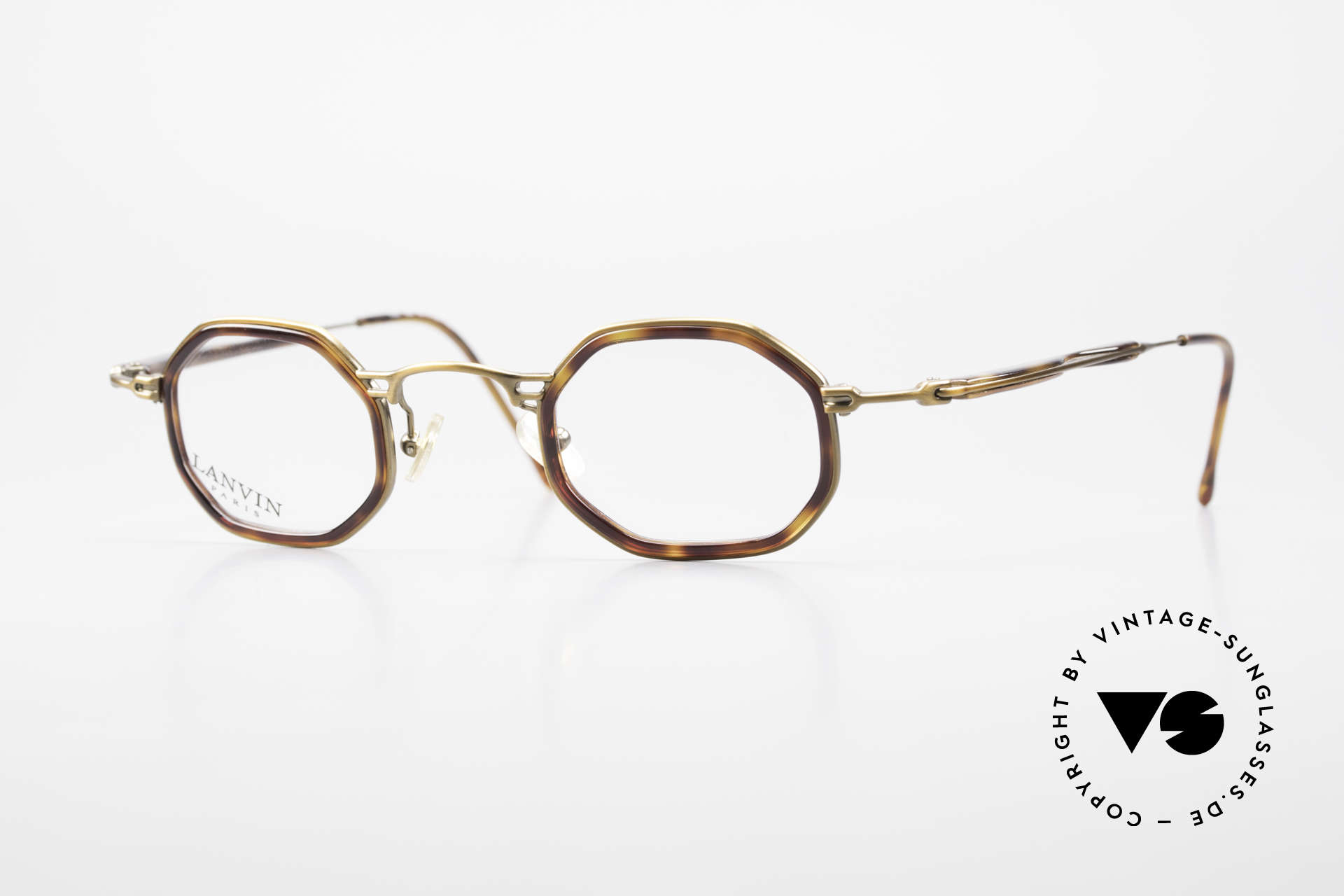 Lanvin 1222 Octagonal Combi Glasses 90's, octagonal 'combi glasses' by LANVIN, PARIS, Made for Men and Women