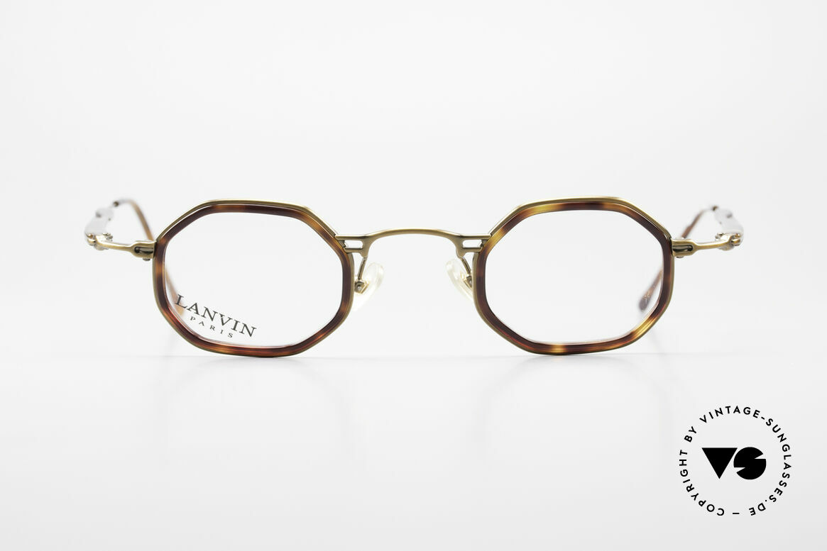 Lanvin 1222 Octagonal Combi Glasses 90's, 90's eyeglasses, model 1222 in size 44/25, 135, Made for Men and Women