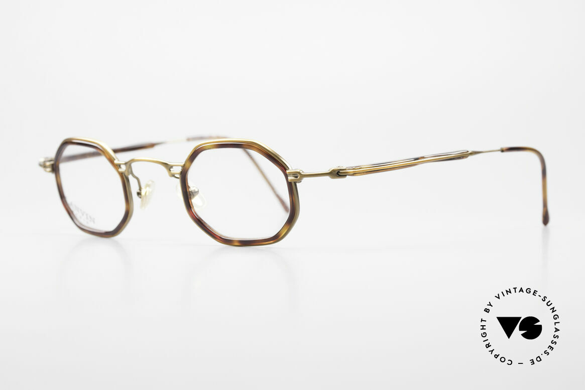 Lanvin 1222 Octagonal Combi Glasses 90's, top-notch 90s craftsmanship; made in France, Made for Men and Women