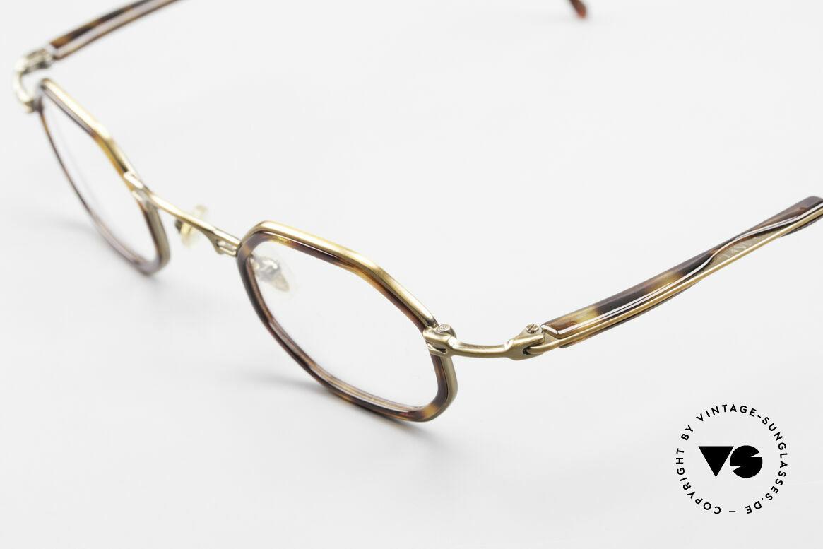 Lanvin 1222 Octagonal Combi Glasses 90's, NO RETRO eyeglasses, but a rare old ORIGINAL, Made for Men and Women
