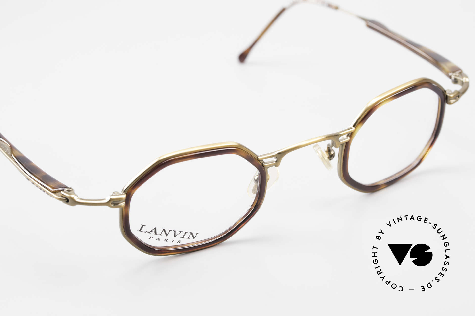 Lanvin 1222 Octagonal Combi Glasses 90's, never worn, NOS (like all our VINTAGE rarities), Made for Men and Women