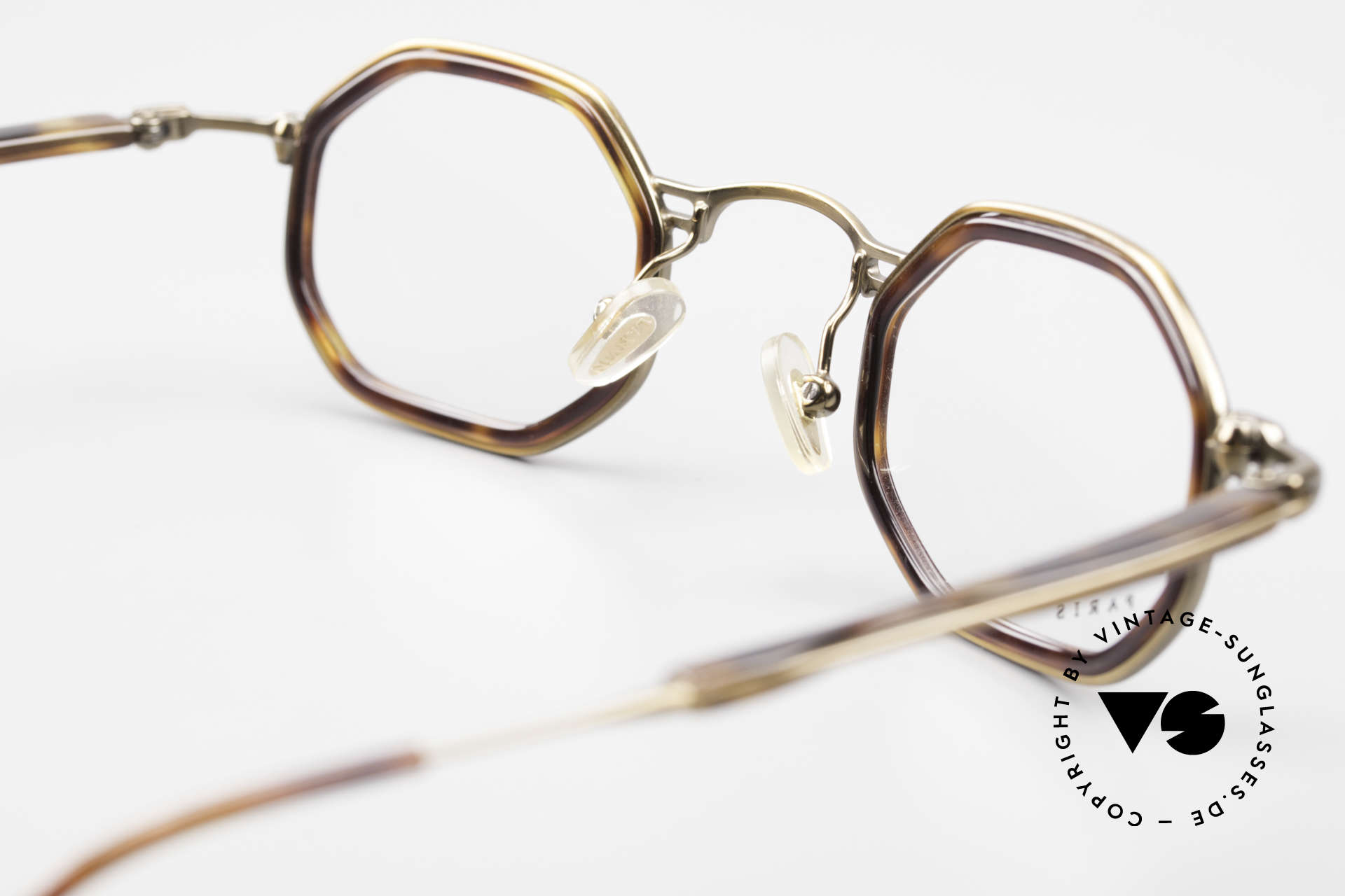 Lanvin 1222 Octagonal Combi Glasses 90's, DEMO lenses can be replaced with prescriptions, Made for Men and Women