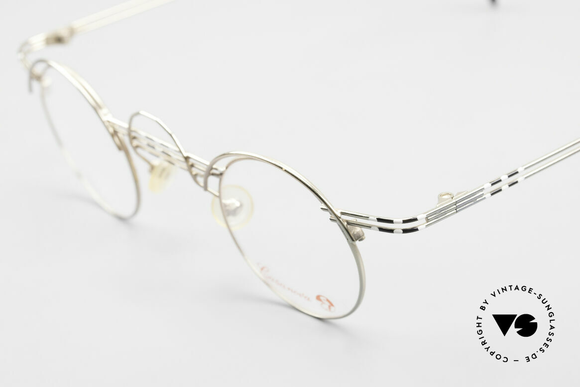 Casanova BC1 Artful Panto Designer Glasses, limited-lot 1980's production (rare, costly, precious), Made for Women