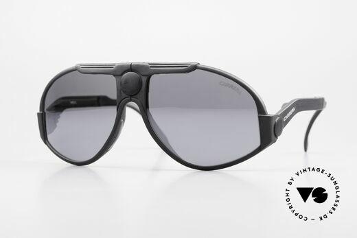Carrera 5586 Folding Kevlar Sunglasses 90s Details