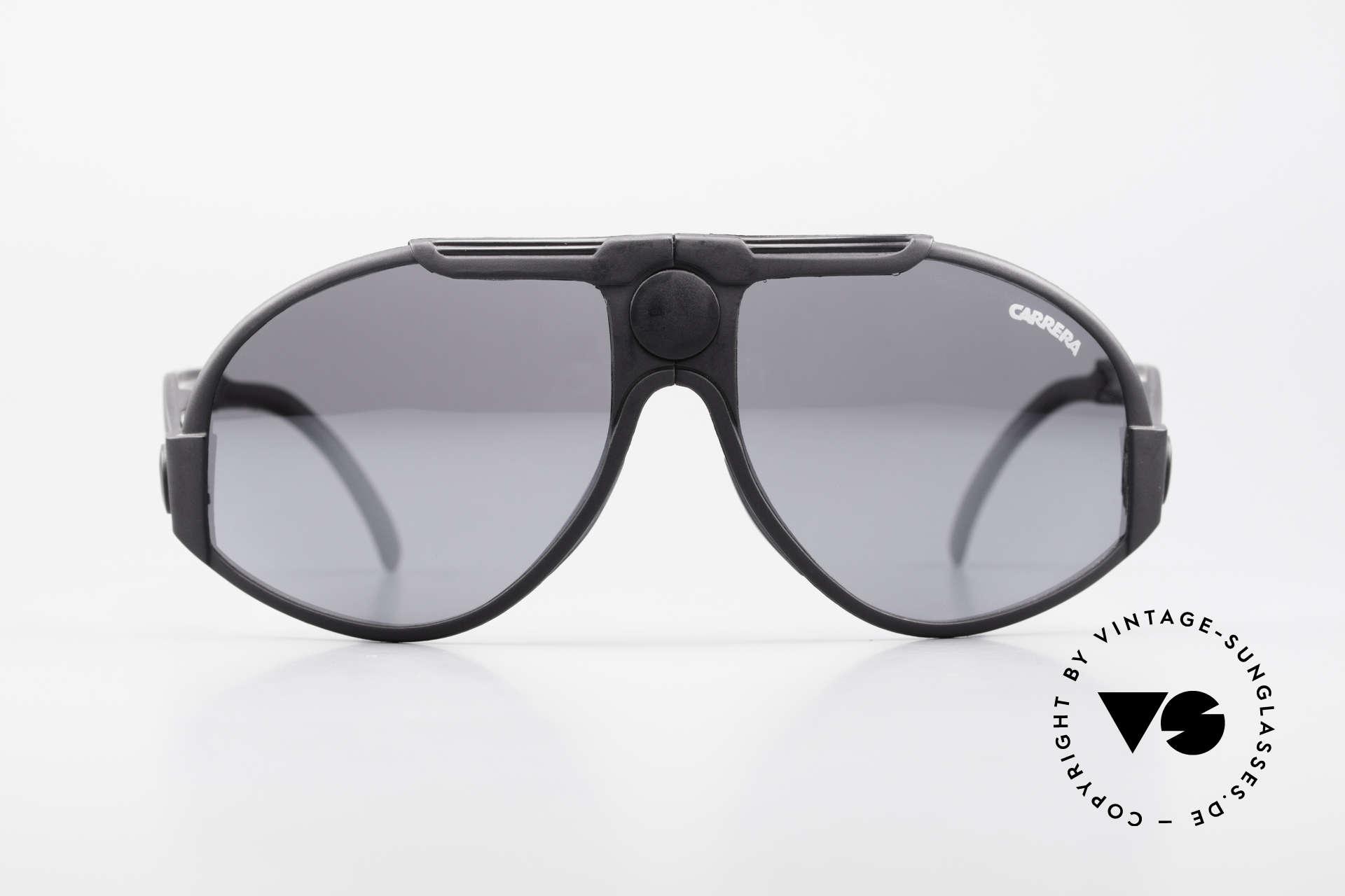 Carrera 5586 Folding Kevlar Sunglasses 90s, lightweight (25 gram only) & hard-wearing (Kevlar), Made for Men