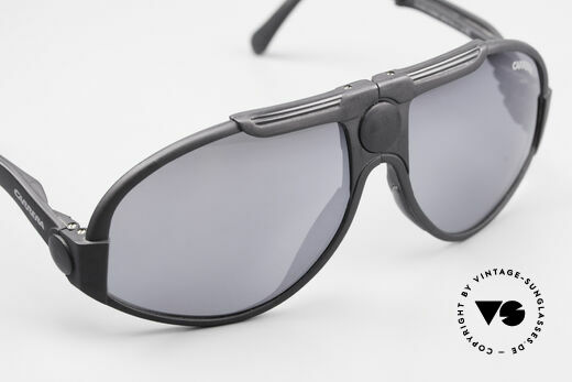 Carrera 5586 Folding Kevlar Sunglasses 90s, NO RETRO shades; but an old original; true vintage, Made for Men