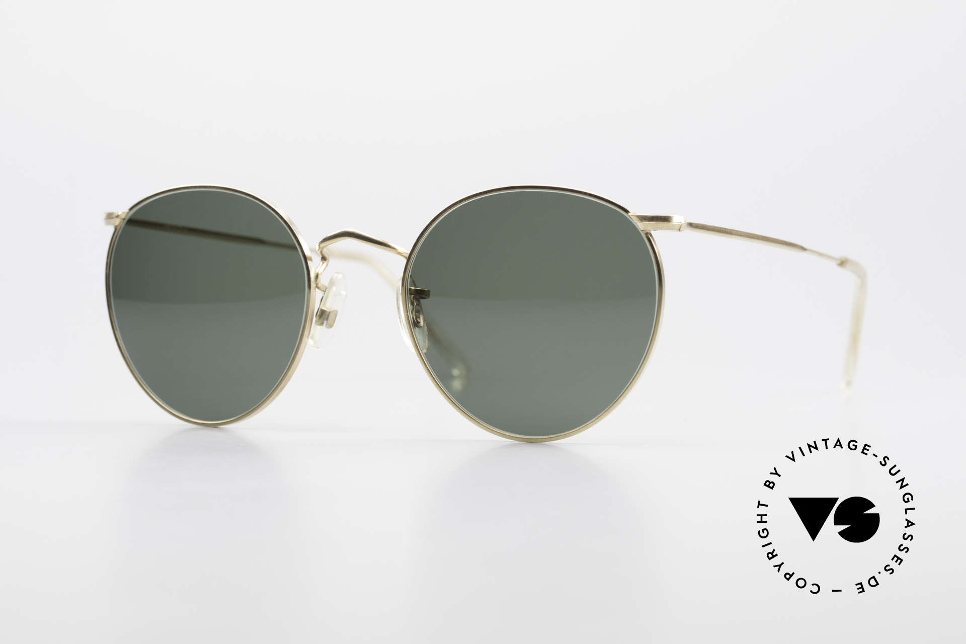 Algha Panto 47/22 Old 70's Gold Filled Frame, old ALGHA vintage frame in S to M size 47-22, Made for Men and Women