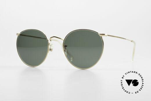 Algha Panto 47/22 Old 70's Gold Filled Frame Details