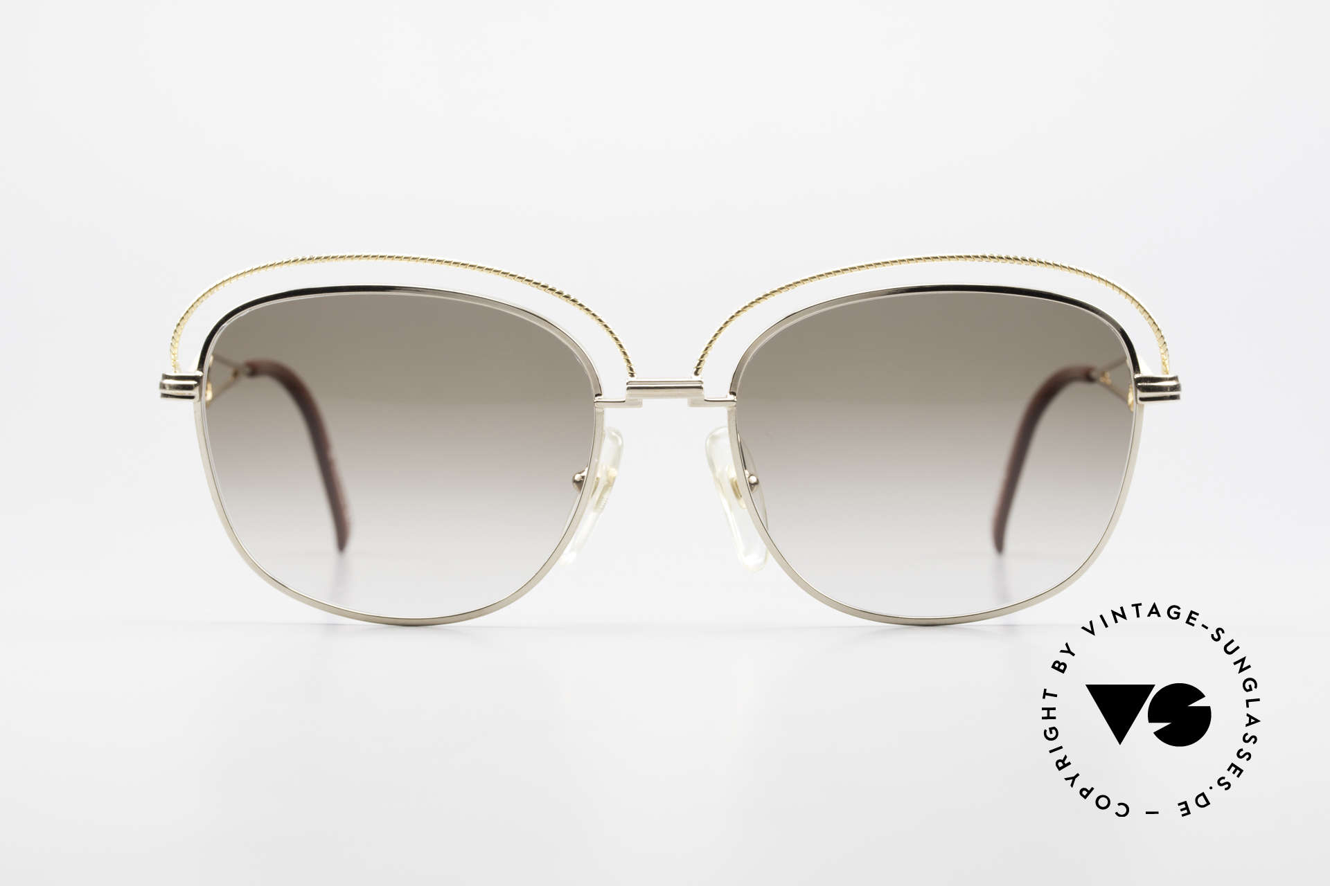Christian Dior 2461 Ladies 80s Designer Sunglasses, distinctive glamorous design by Christian Dior, Made for Women