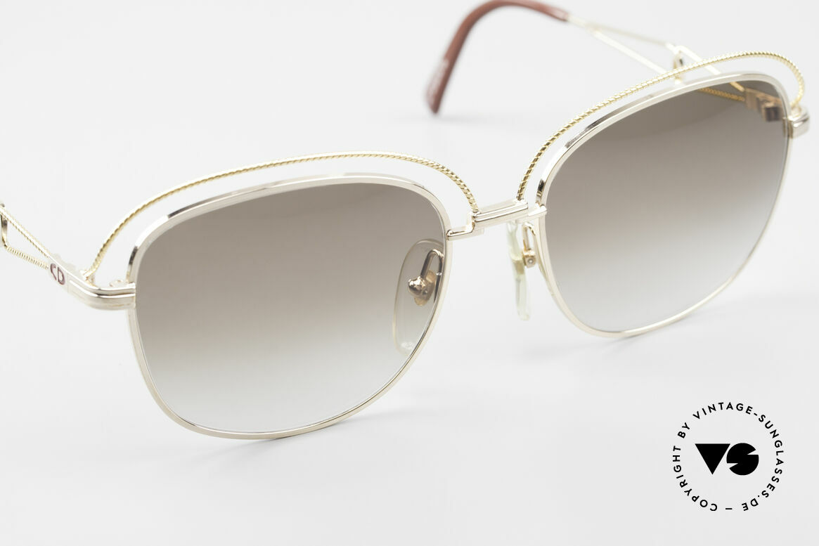 Christian Dior 2461 Ladies 80s Designer Sunglasses, unworn (like all our 1980's fashionable Diors), Made for Women