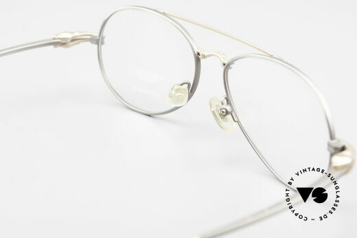 Aston Martin AM49 Titanium Glasses Aviator Style, NO RETRO design glasses, but a unique 1990's original!, Made for Men