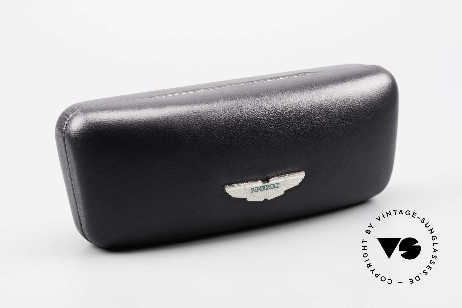 Aston Martin AM49 Titanium Glasses Aviator Style, Size: extra large, Made for Men