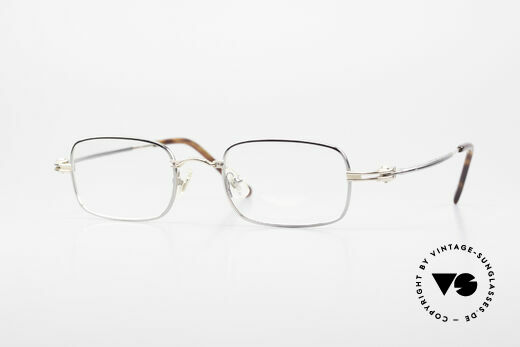Aston Martin AM44 Square Men's Frame Titanium Details