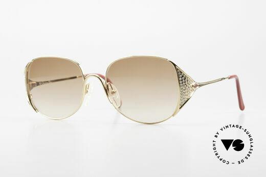 Christian Dior 2362 Ladies Sunglasses Rhinestone Details