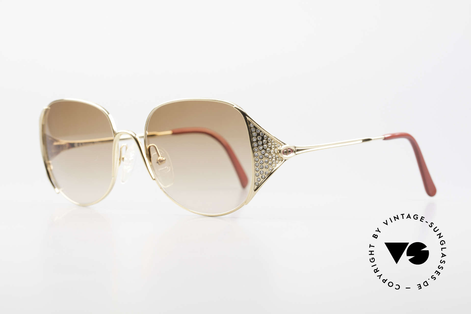 Christian Dior 2362 Ladies Sunglasses Rhinestone, finest quality and craftsmanship by Christian DIOR, Made for Women