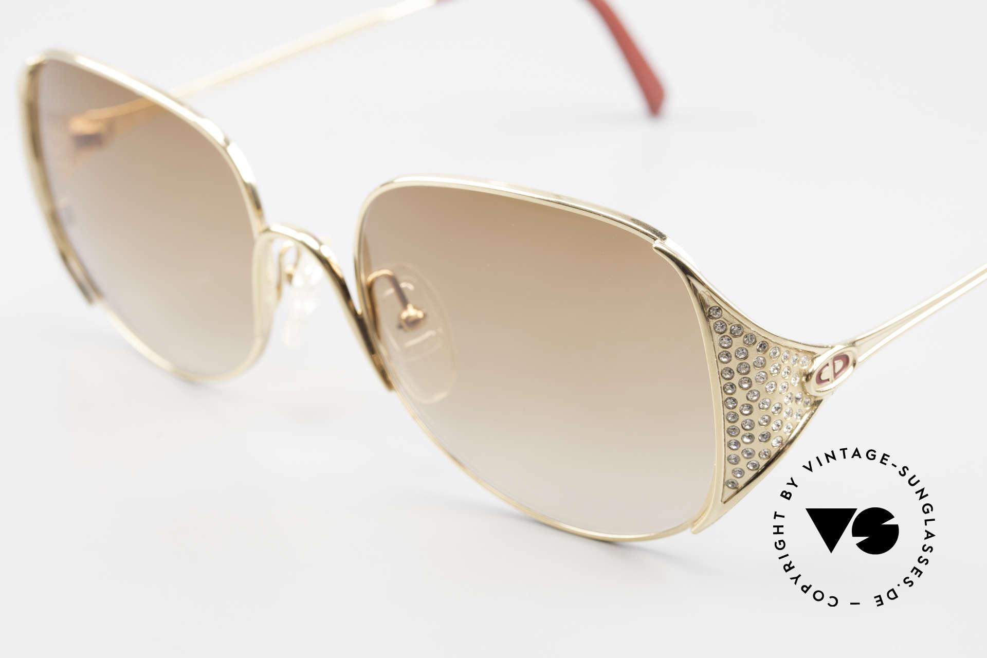 Christian Dior 2362 Ladies Sunglasses Rhinestone, unworn; like all our rare vintage designer sunglasses, Made for Women