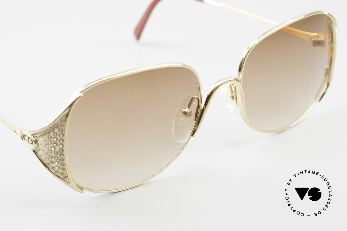 Christian Dior 2362 Ladies Sunglasses Rhinestone, NO RETRO style, but real vintage commodity, VERTU, Made for Women
