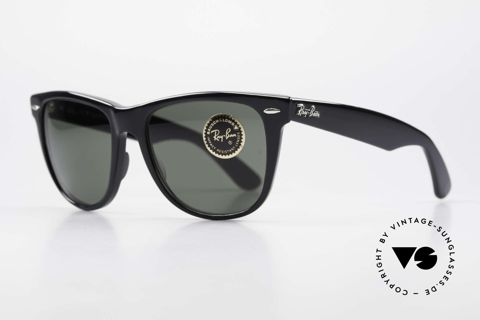 Ray Ban Wayfarer II JFK USA Vintage Sunglasses, original old USA frame (made by Bausch&Lomb), Made for Men