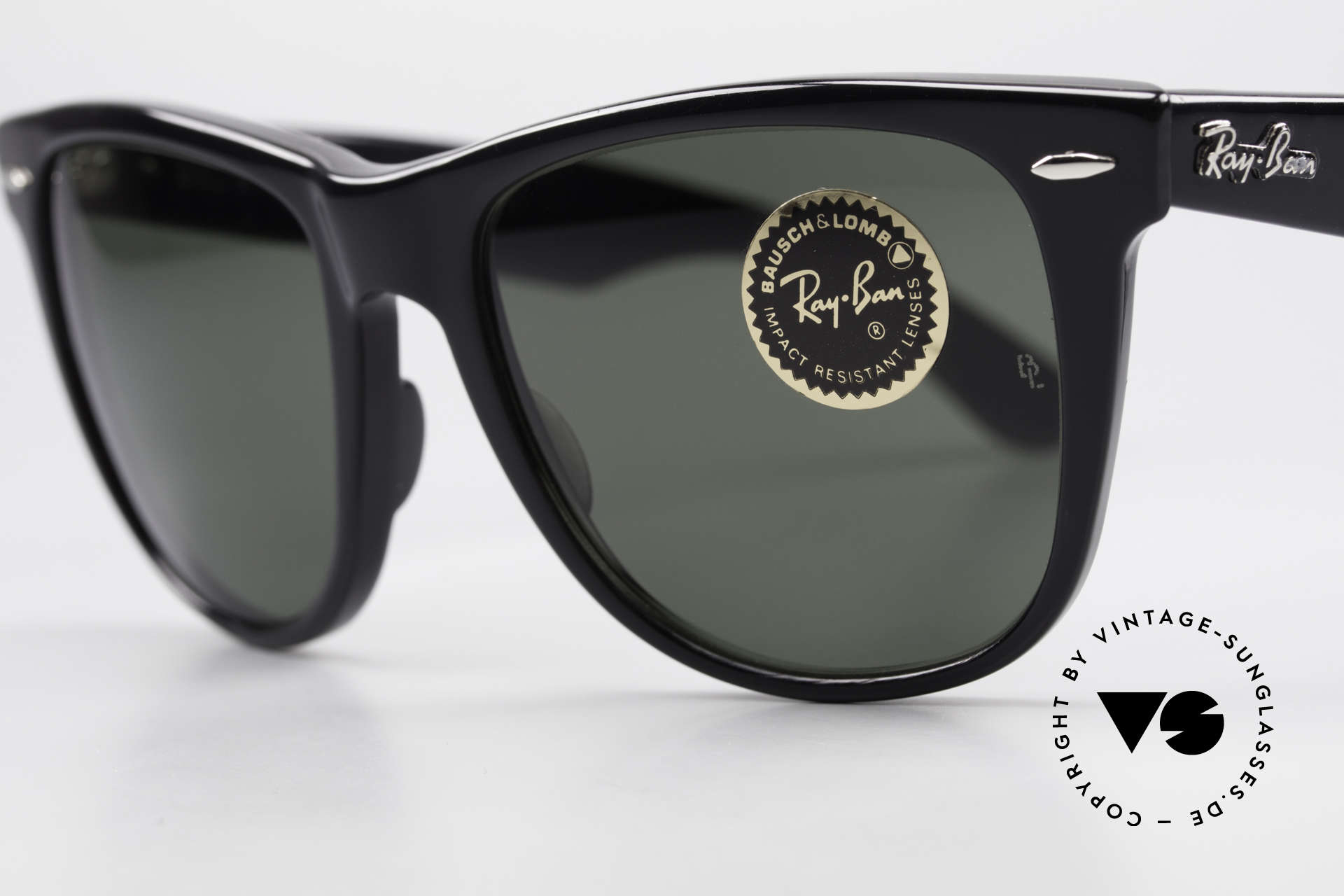 Ray Ban Wayfarer II JFK USA Vintage Sunglasses, unworn model; true rarity and collector's item, Made for Men