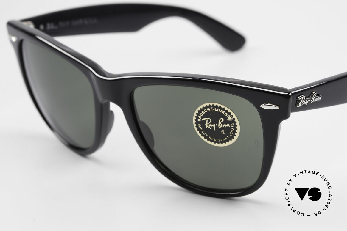Ray Ban Wayfarer II JFK USA Vintage Sunglasses, orig. G15 mineral lenses with the legendary B&L, Made for Men