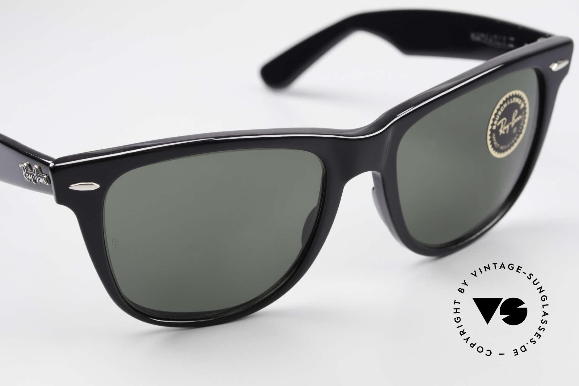 Ray Ban Wayfarer II JFK USA Vintage Sunglasses, ORIGINAL 80's commodity, NO RETRO eyewear!, Made for Men