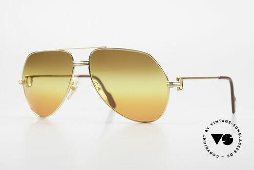 Cartier Vendome LC - M TRIPLE GRADIENT DESERT SUN Details