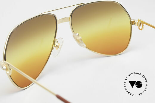 Cartier Vendome LC - M TRIPLE GRADIENT DESERT SUN, unworn, new old stock (NOS), with full original packing, Made for Men and Women