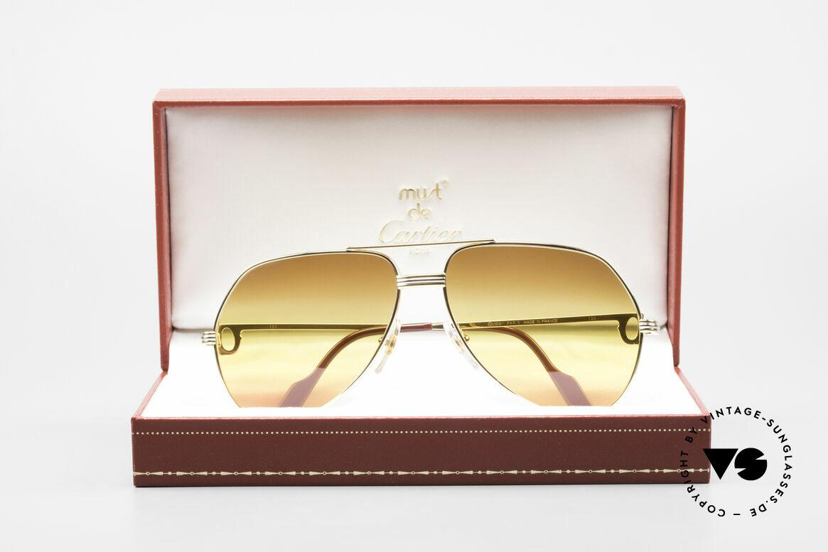 Cartier Vendome LC - M TRIPLE GRADIENT DESERT SUN, NO RETRO sunglasses, but an authentic vintage Original, Made for Men and Women