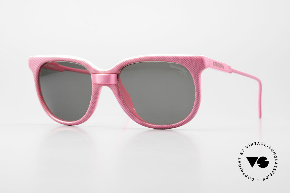 Carrera 5426 Pink Ladies Sports Sunglasses, CARRERA CAT-Changer sports shades from 1988, Made for Women