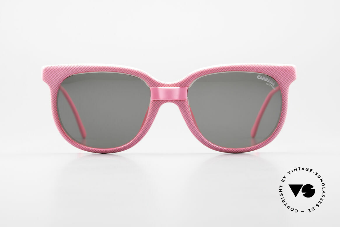 Carrera 5426 Pink Ladies Sports Sunglasses, lightweight synthetic frame = OPTYL material!, Made for Women