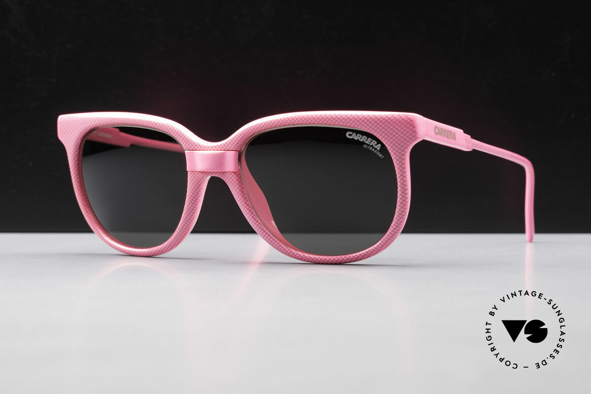 Carrera 5426 Pink Ladies Sports Sunglasses, state-of-the-art lenses (3 sets) & with orig. case, Made for Women