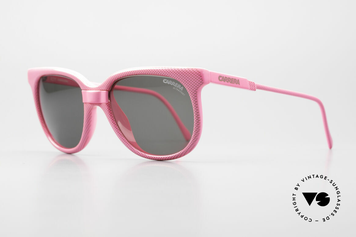 Carrera 5426 Pink Ladies Sports Sunglasses, green Ultrasight, brown Ultrasight and 1x gray, Made for Women
