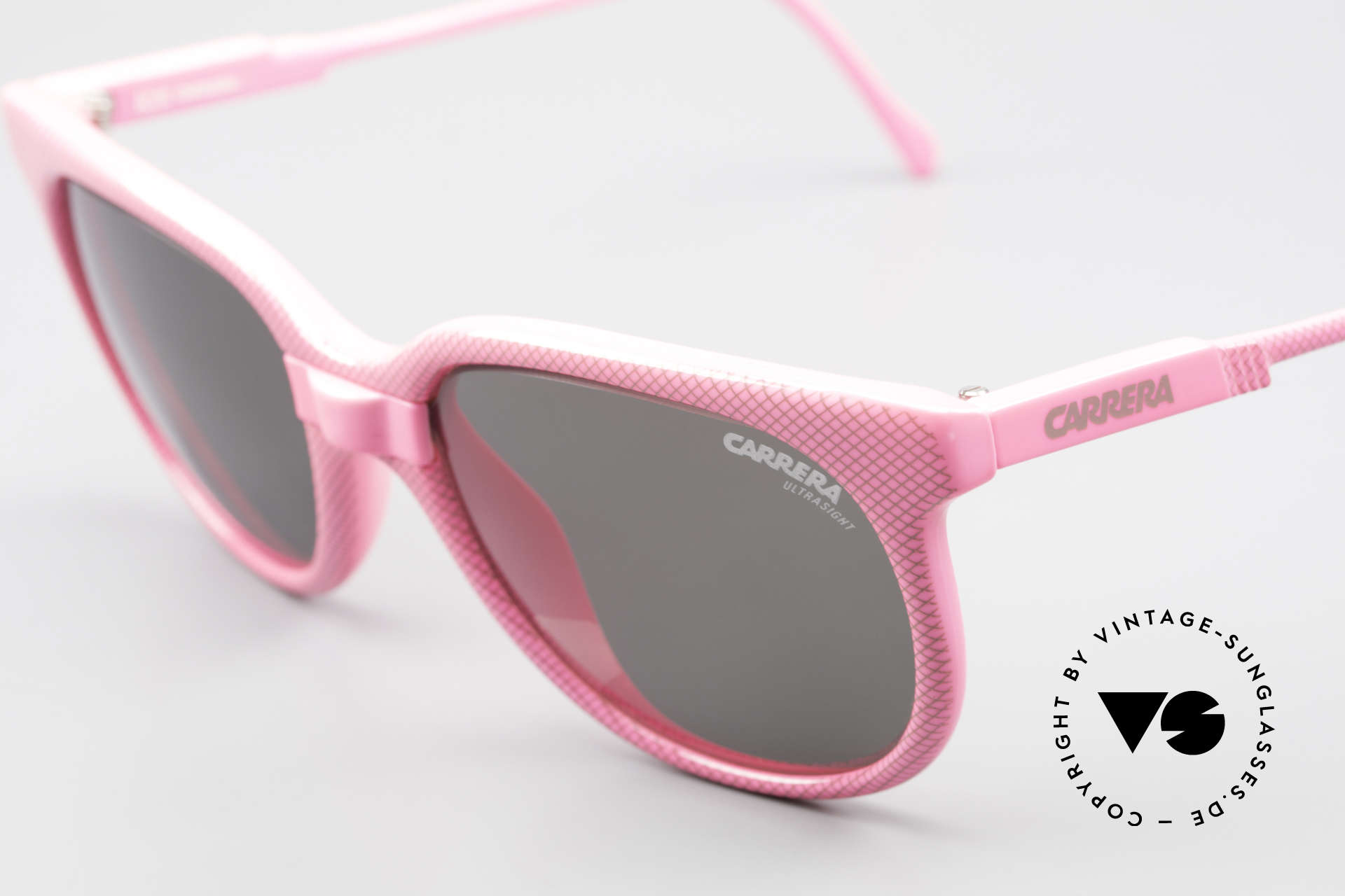 """Carrera 5426 Pink Ladies Sports Sunglasses, extraordinary frame pattern with """"lattice effect"""", Made for Women"""
