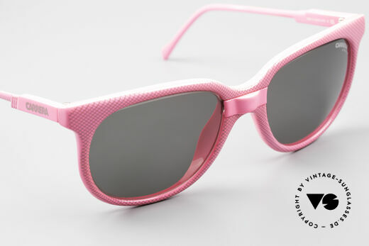 Carrera 5426 Pink Ladies Sports Sunglasses, new old stock (like all our 80's Carrera sunnies), Made for Women