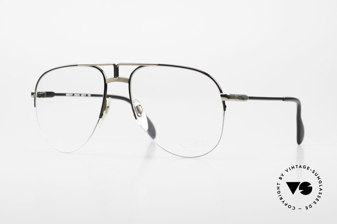Cazal 717 Old 80's Glasses Semi Rimless, old West Germany Cazal glasses, VINTAGE, Made for Men