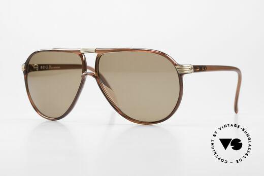 Christian Dior 2300 80's Aviator Sunglasses Optyl Details