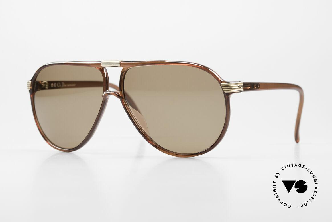Christian Dior 2300 80's Aviator Sunglasses Optyl, Christian Dior vintage men's sunglasses from '85, Made for Men