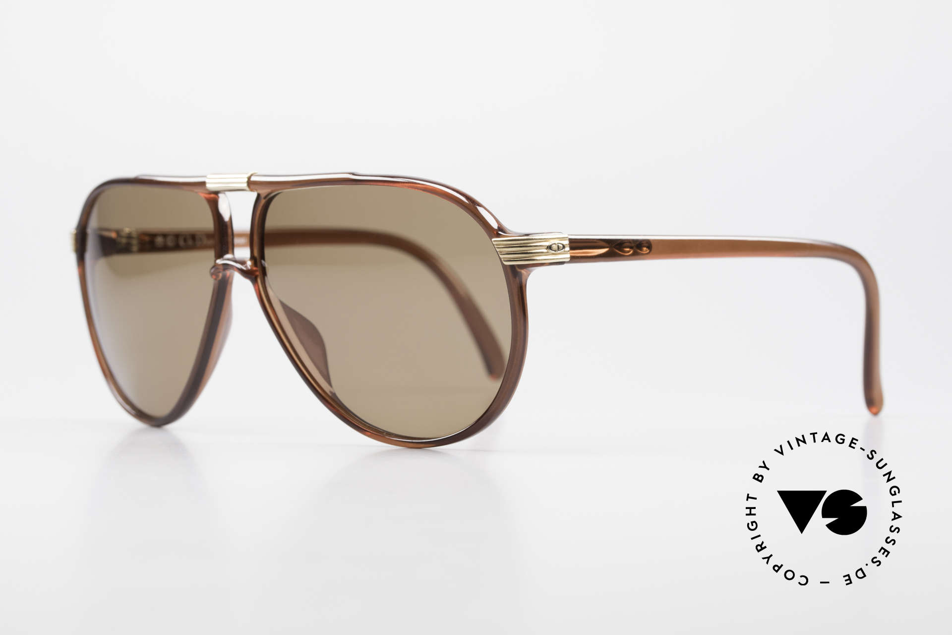 Christian Dior 2300 80's Aviator Sunglasses Optyl, TOP quality thanks to the great OPTYL material, Made for Men