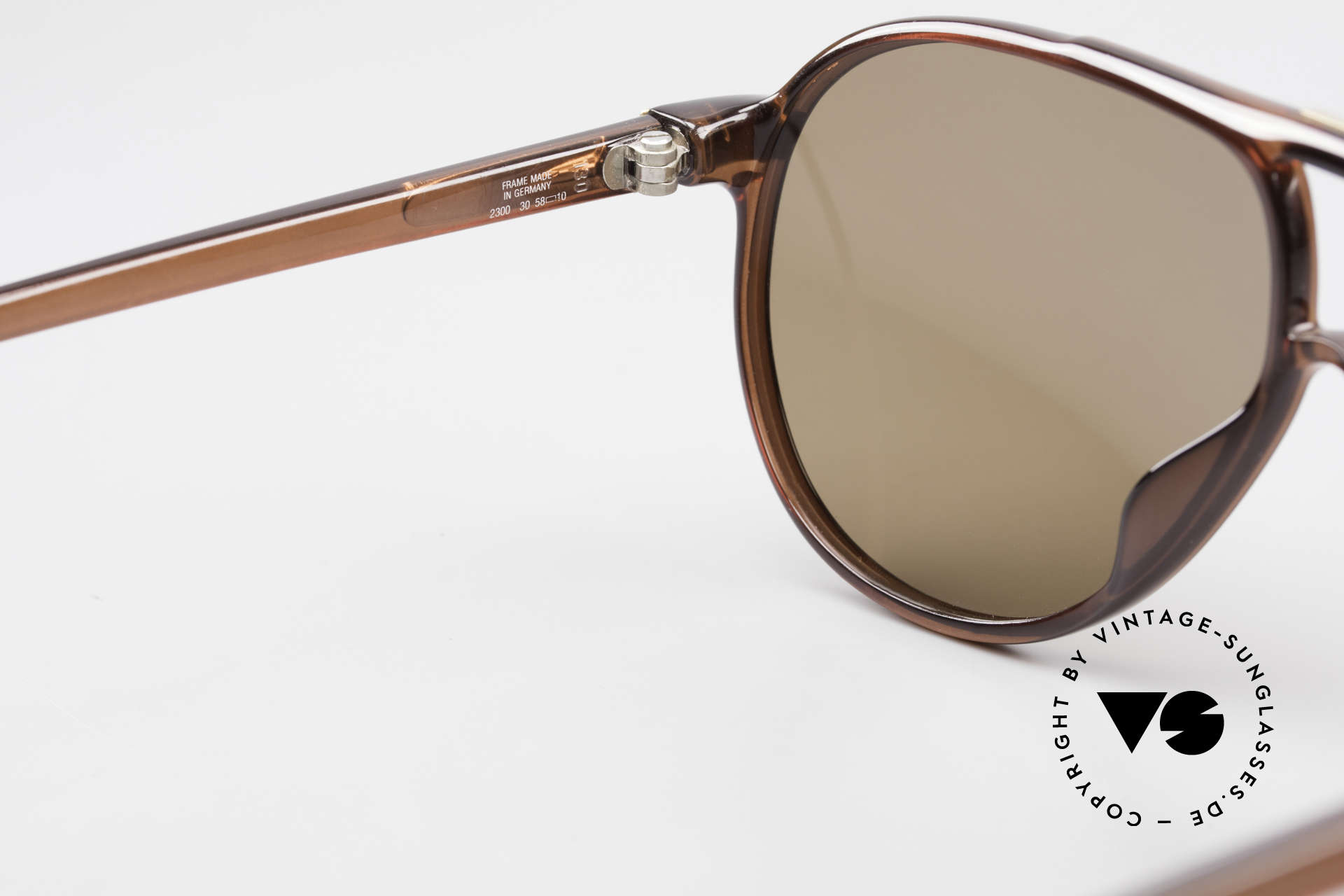 Christian Dior 2300 80's Aviator Sunglasses Optyl, new old stock (like all our DIOR Monsieur shades), Made for Men