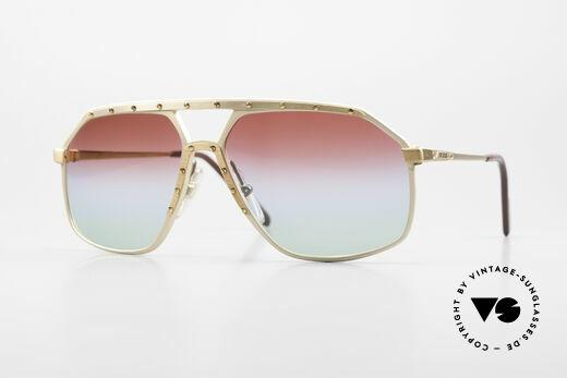 Alpina M6 West Germany Sunglasses 80's Details