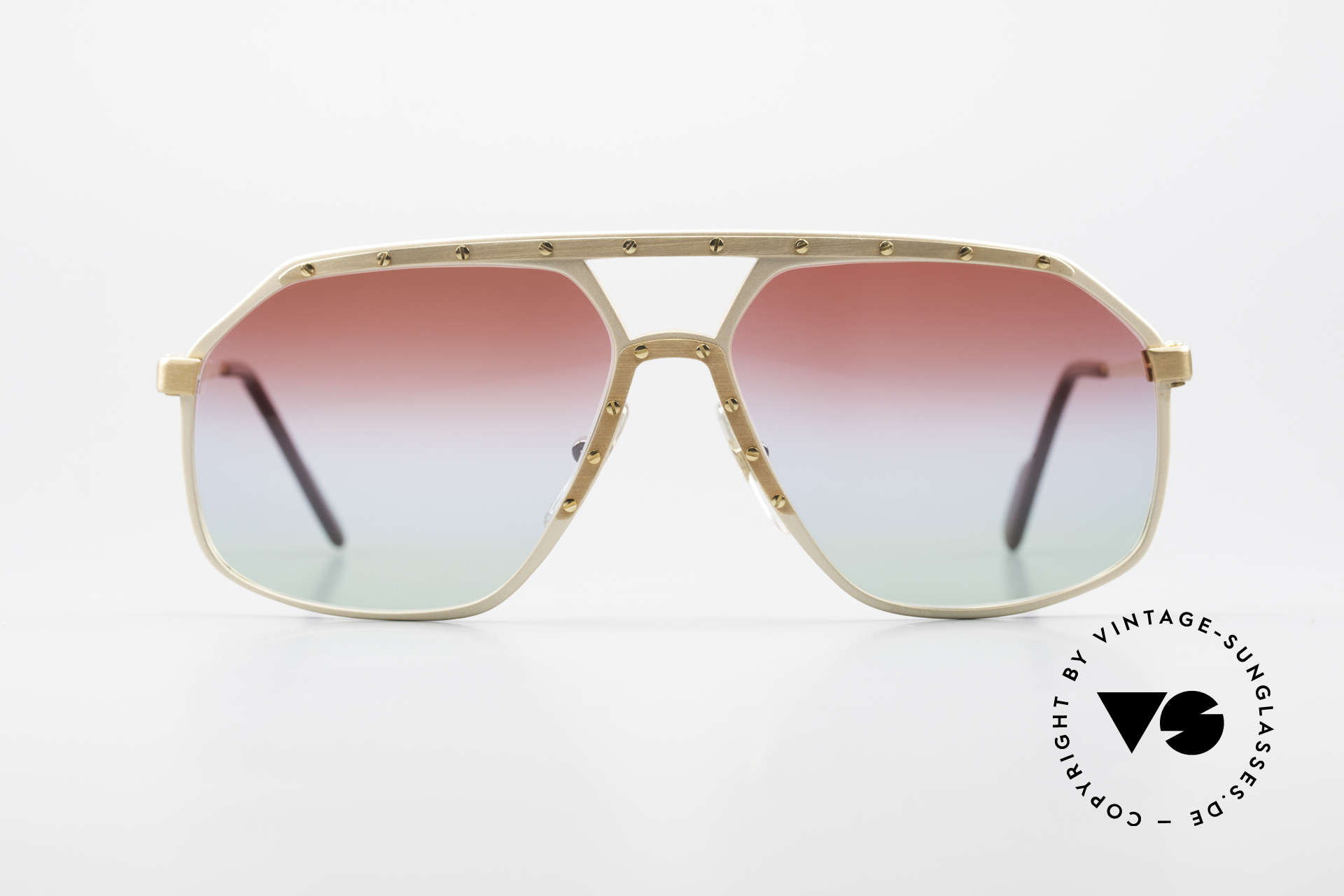 Alpina M6 West Germany Sunglasses 80's, a precious old 80's original in medium size 60-14, Made for Men and Women