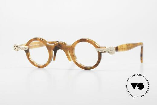 Robert La Roche 657 Round Vintage Glasses 1980's Details